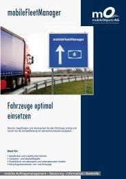 Flyer - mobileFleetManager - Telematik Markt