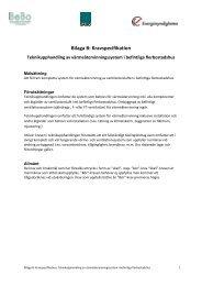 Bilaga B: Kravspecifikation - BeBo