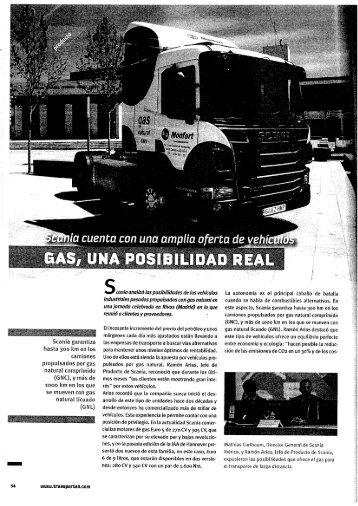 Scania garantiza hasta 300 km en los camiones - CETM
