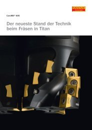 Der neueste Stand der Technik beim Fräsen in Titan