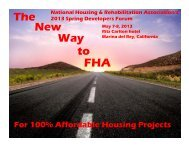 Wade Norris - National Housing & Rehabilitation Association