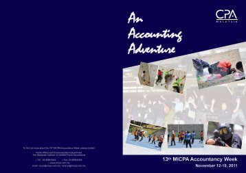 13th MICPA Accountancy Week - The Malaysian Institute Of Certified ...