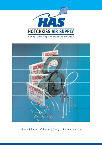 HASFLEX Clamping Products - Hotchkiss Air Supply