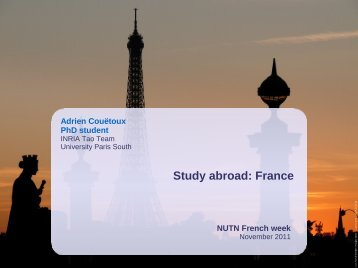 Study abroad: France