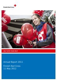 Annual Report 2011 Finnish Red Cross 11 May 2012 - Punainen Risti