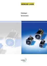 Catalogue Servomotors