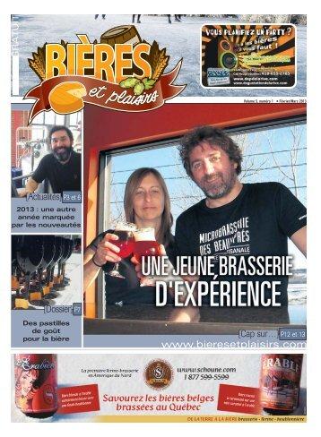 Février – Volume 5 - Numéro 1 - Bières et Plaisirs