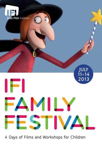 2013 Programme - Irish Film Institute