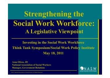 Asua Ofosu, NASW - Social Work Policy Institute