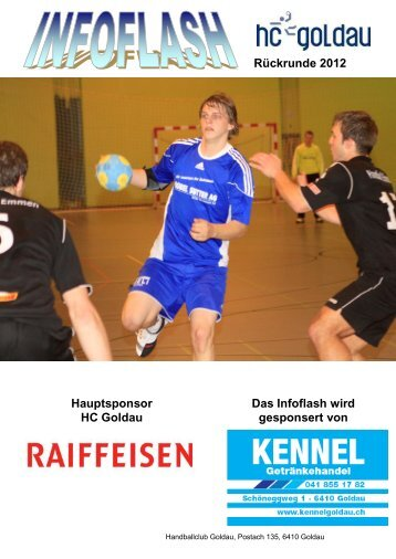 Zum Infoflash - Handballclub Goldau