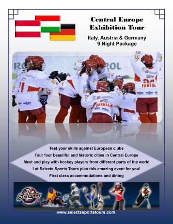Central Europe Exhibition Tour - Selects Sports