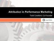 Attribution in Performance Marketing - Affiliate Management Days