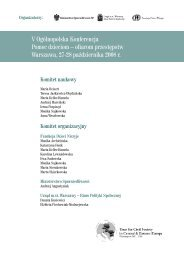 V Ogólnopolska Konferencja Pomoc dzieciom – ofiarom przestępstw ...