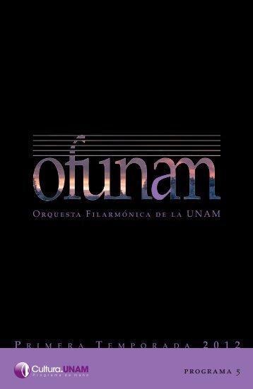 programa completo - Música UNAM