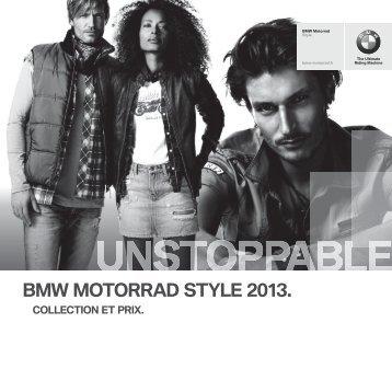 Télécharger le catalogue life style BMW MOTORRAD - Moto Plus