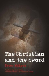 The Christian and the Sword - Plough