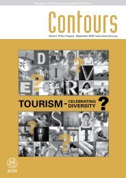 Newsletter of the Ecumenical Coalition On Tourism Volume 19 No.3 ...