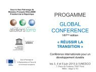 Programme et intervenants de la Global ... - Etudiantdeparis.fr