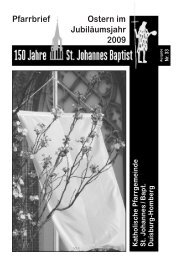 33 - kath. Pfarrgemeinde St. Johannes