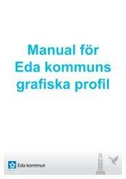 Manual för Eda kommuns grafiska profil