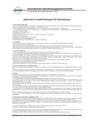 Allgemeine Geschäftsbedingungen für Bauleistungen - expateam.com