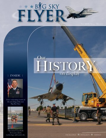 Vol. XXVII, No. 4 - Oct 2007 - 120th Fighter Wing, Montana Air ...