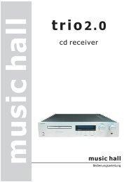 trio2.0 trio2.0 - Phonar Akustik GmbH