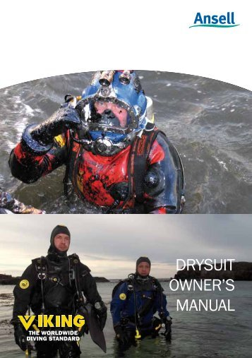 Viking Dry Suit Owner's Manual - Ansell Protective Solutions