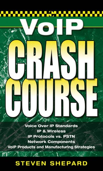 VOICE OVER IP CRASH COURSE - voiceip.com.ua