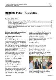 Juli 2012 - DLRG St. Peter