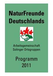 NaturFreunde Deutschlands - Naturfreundehaus - Solingen ...