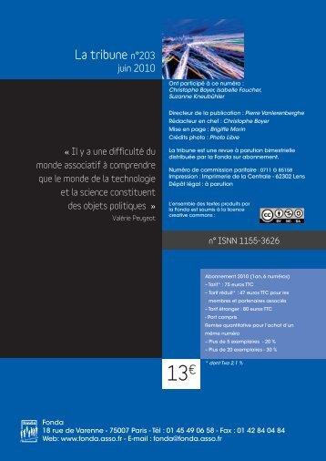 info document - Fonda