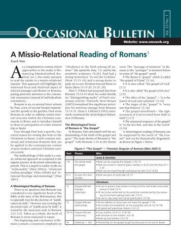 Relational Romans.pdf - Enoch Wan