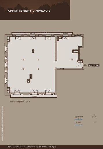 APPARTEMENT 9 NIVEAU 3 - Appartements à la montagne à Megève
