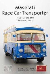 Maserati Race Car Transporter - CMC