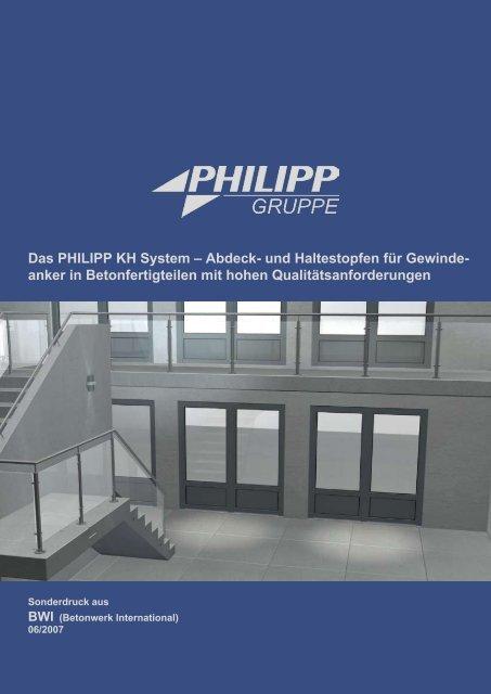 BWI (Betonwerk International) - PHILIPP Gruppe