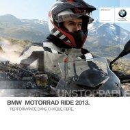 BMW Motorrad Ride Catalogue 2013 (PDF, 10812 kb)