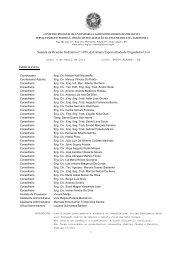 Súmula da Reunião Ordinária n° 1056, da Câmara ... - Crea-RS