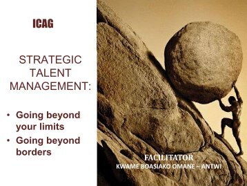 Strategic Talent Management - The Institute of Chartered ...