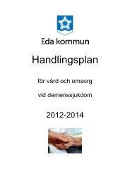 Handlingsplan demens - Eda kommun