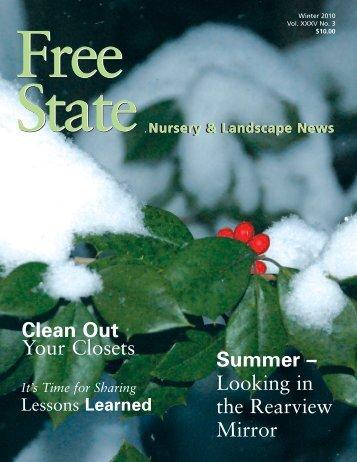 Winter 2010 - Maryland Nursery and Landscape Association