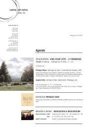 Lettre juin 2010 - Cantina del Mulino