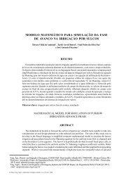 modelo matemático para simulação da fase de avanço na irrigação ...