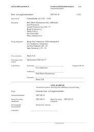 Barn- och ungdomsnämnden 2007-04-10 1 - Grästorps kommun