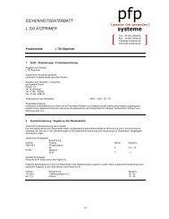 systeme - pfp systeme GmbH
