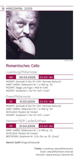 Konzertkalender