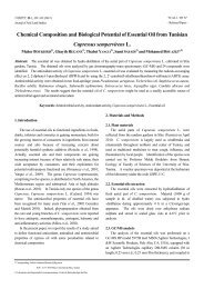 Chemical Composition and Biological Potential of Essential Oil from ...