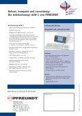 Die Achslastwaage ALW-1 von PFREUNDT - Pfreundt GmbH - Page 2