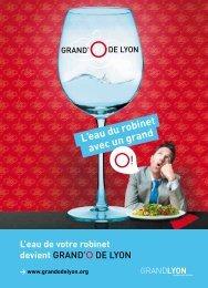 L'eau du robinet avec un grand - Grand Lyon