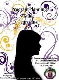 2012-2013 Course Offerings - Oconomowoc Area School District
